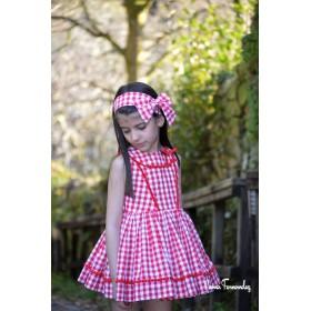 Noma Fernandez Vestido Niña Scarlett