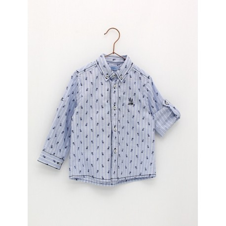 Foque Camisa Niño Piñas