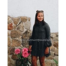 Bella Bimba Vestido Mota Dorada Onix