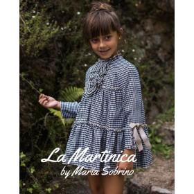 La Martinica Vestido niña Buckinham