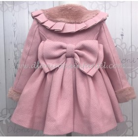 La Amapola Abrigo 52 Rosa