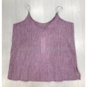 Pilar Batanero Blusa Tirantes Purpura
