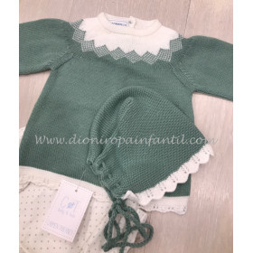Name It Short Niña Verde Militar