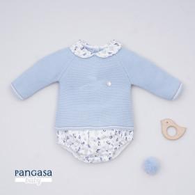 Pangasa Conjunto Bebe Cubre con jersey Cuco Bird