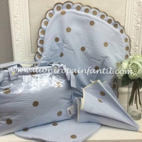Conjunto silla Artesania Chari