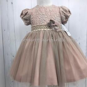 Loanbor vestido rosa